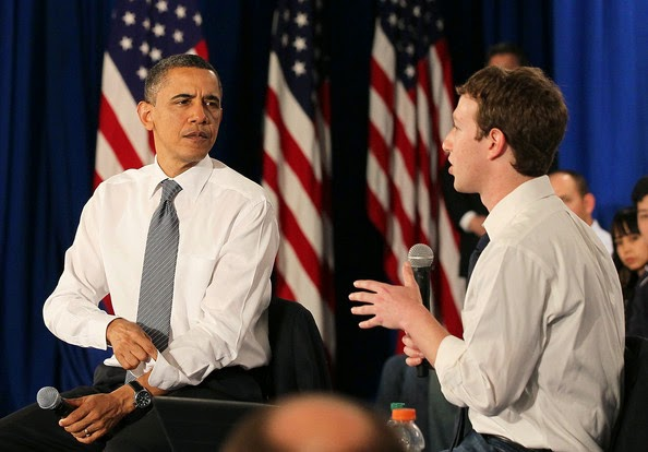 Mark Zuckerberg, gives lessons in transparency to the U.S. government, U.S. government, Edward Snowden, fake Facebook pages, social media, facebook,