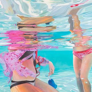 pinturas-coloridas-con-mujeres-bajo-el-agua mujeres-bajo-el-agua-pinturas