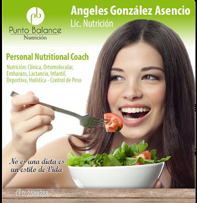 L.N. Angeles González Asencio NUTRIOLOGA GUADALAJARA