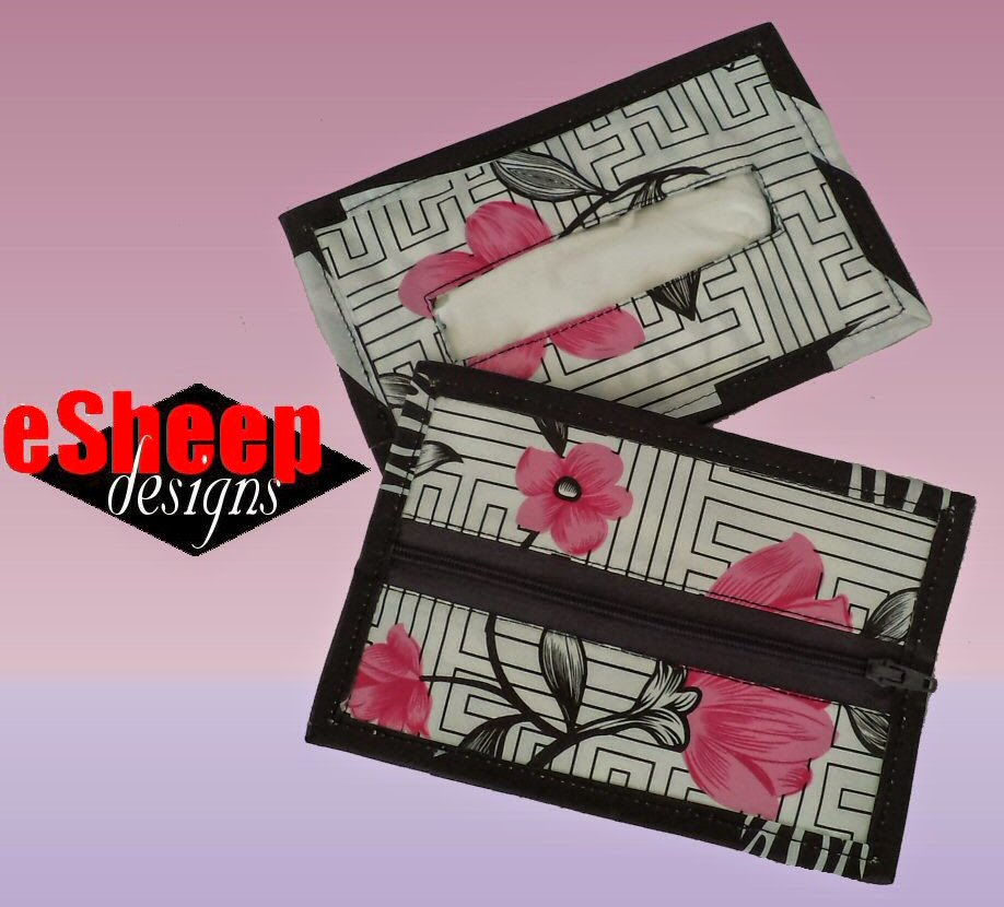 Wet Wipe Tissue Wallet by eSheep Designs