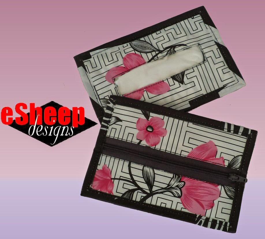 Wet Wipe Tissue Wallet by eSheep Designs
