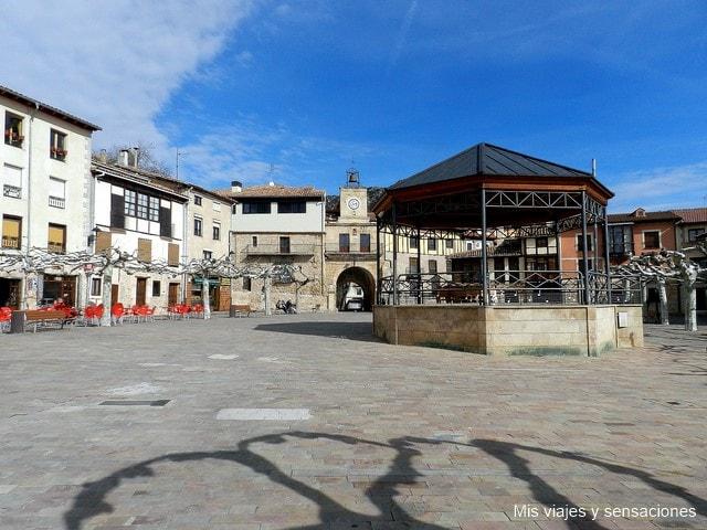 Plaza nueva, Poza de la Sal, Burgos