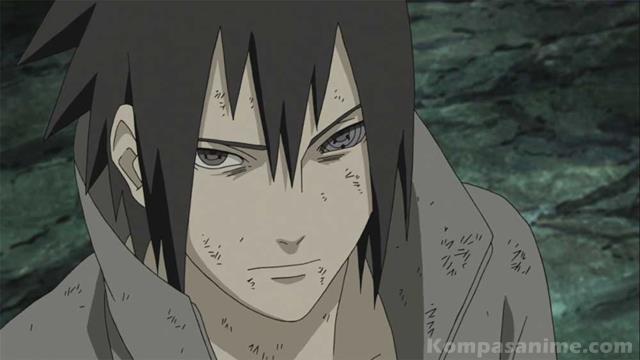 Rinnegan milik Sasuke berbeda dengan Madara