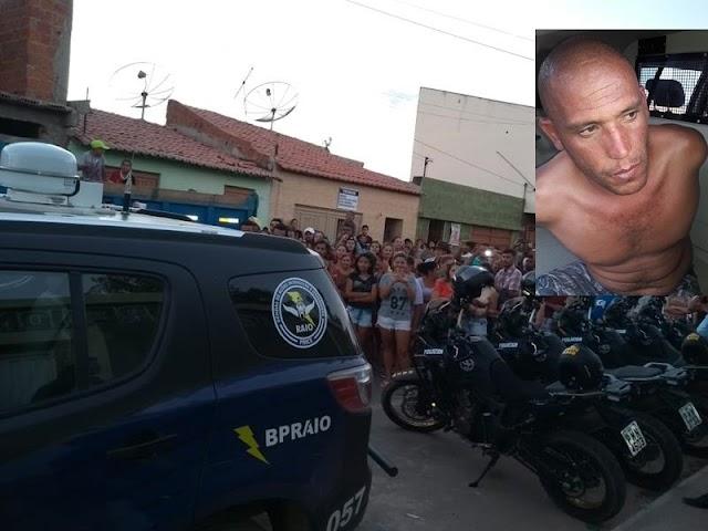 Andarilho acusado de raptar e estuprar garota de 13 anos em Brejo Santo-CE é preso pelo Raio no Barro