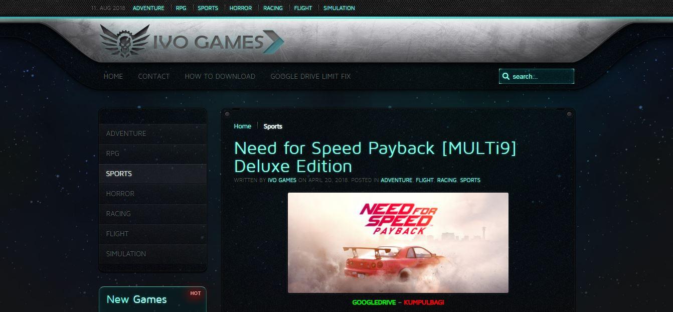 Tempat Download Game PC Terlengkap