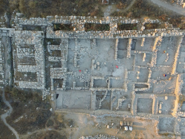 3,600 year  old gold and silver offerings found in Canaanite Gezer