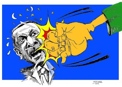 IaTriDis Γελοιογραφία : Ενωμένη σαν γροθιά