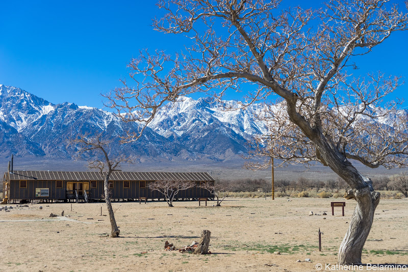 Manzanar Block California Highway 395 Road Trip Attractions