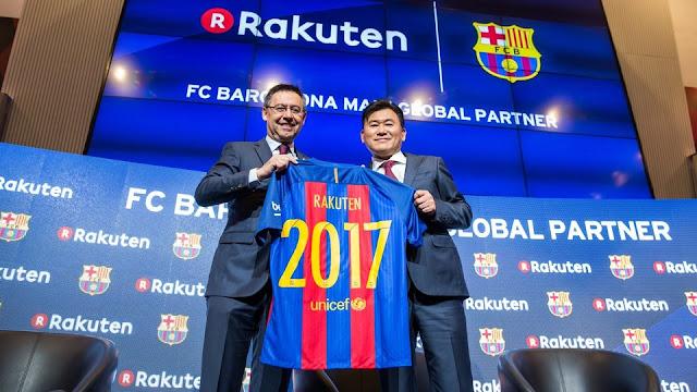 Rakuten nuevo patrocinador del Barça
