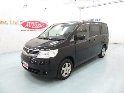 Nissan Serena Japanese used car export import