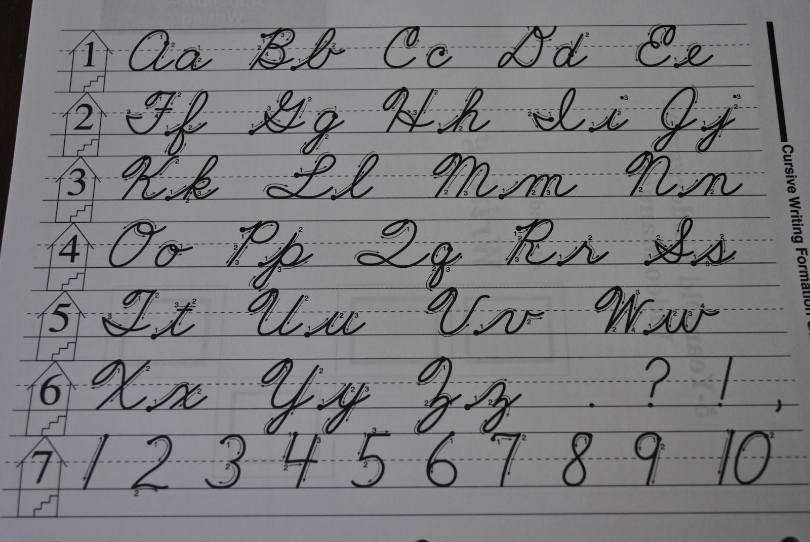 Cursive Letters: Uppercase