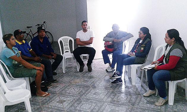 Em Delmiro Gouveia, Secretaria de Meio Ambiente realiza reunião com os borracheiros para tratar sobre o descarte dos resíduos