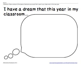 Classroom Freebies: I Have a Dream Printables