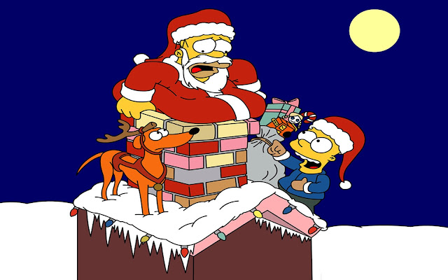 Funny Merry Christmas Santa Cartoon Pictures