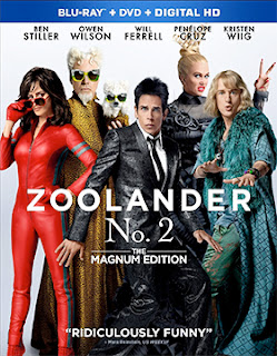 DVD & Blu-ray Release Report, Zoolander No. 2, Ralph Tribbey
