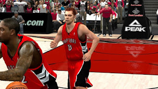 NBA 2K13 Toronto Raptors Away Jersey Patch