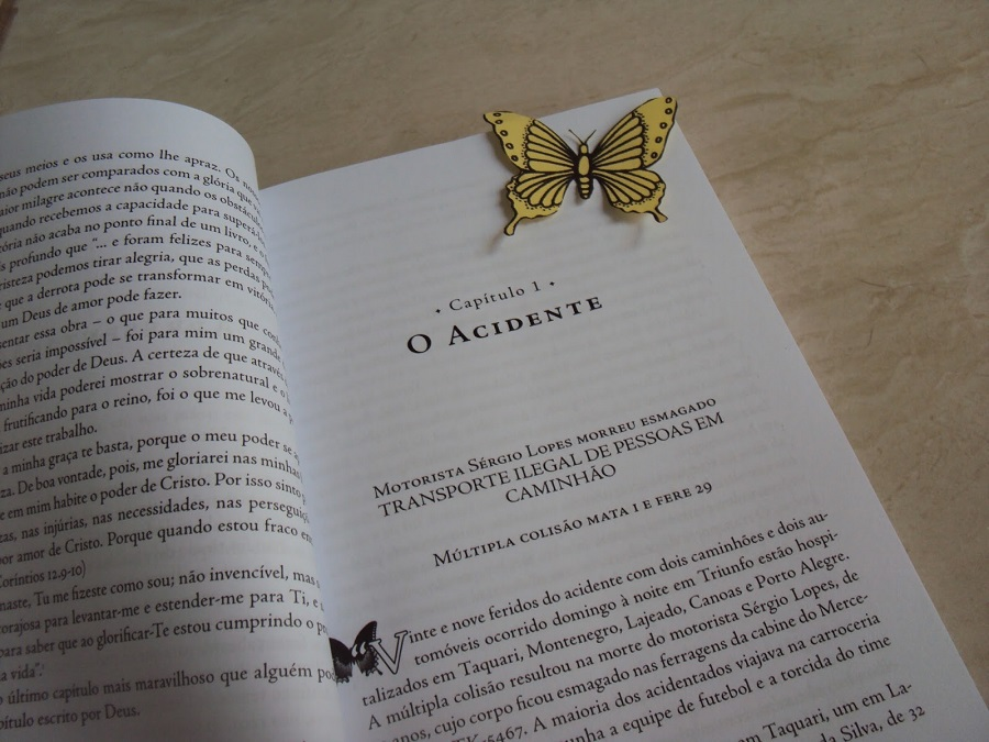 Pra você #001: O Penúltimo Capítulo, Clarice Pessato