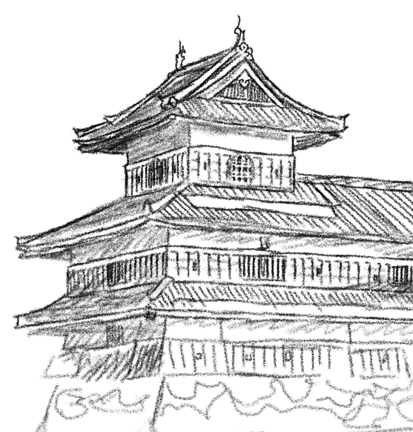 The Forbidden Temple Coloring Page