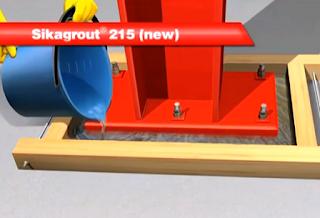 Sikagrout 215 Untuk Landasan Baseplate