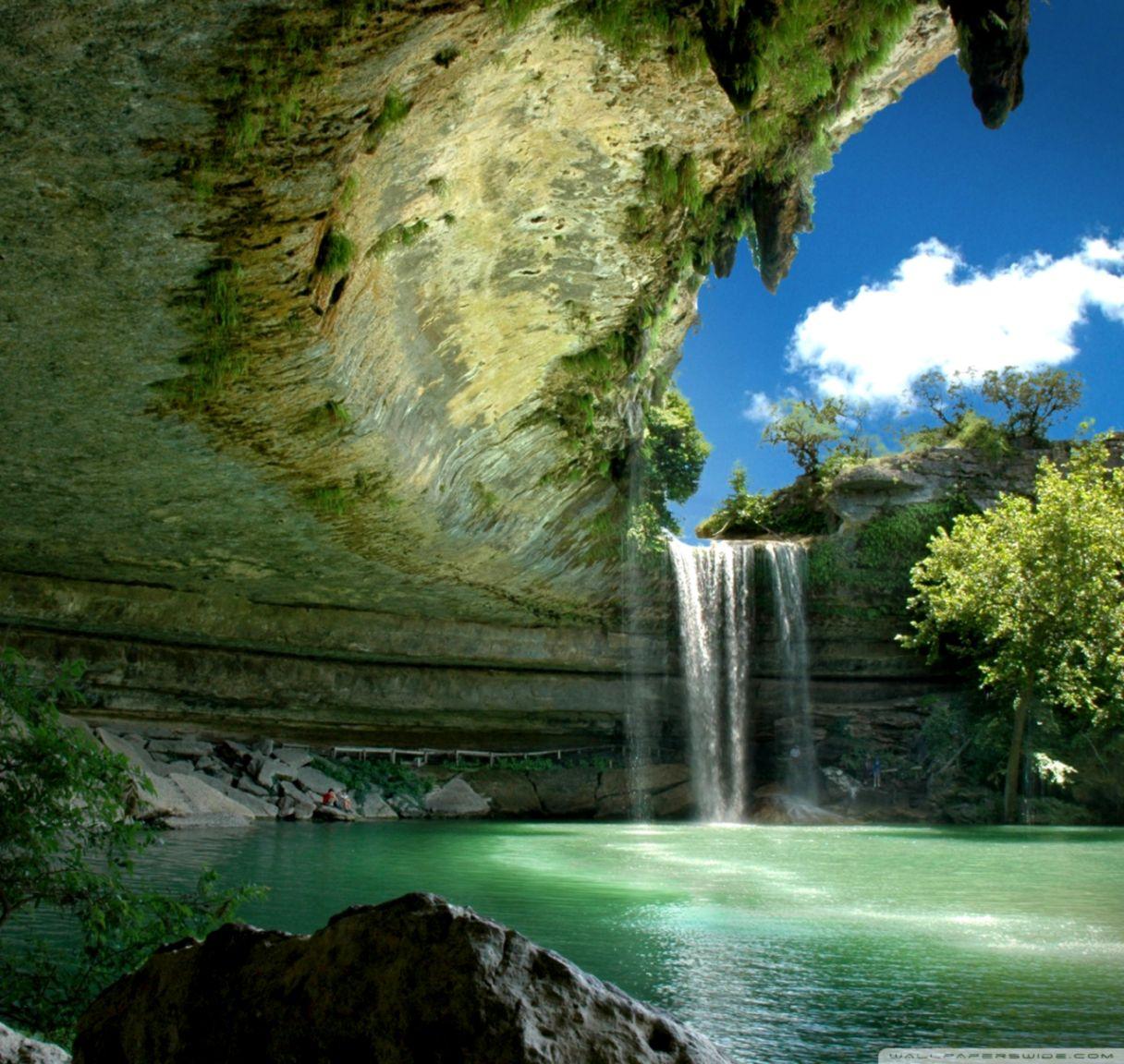 4k Wallpaper Waterfall Wallpaper 4k Hd