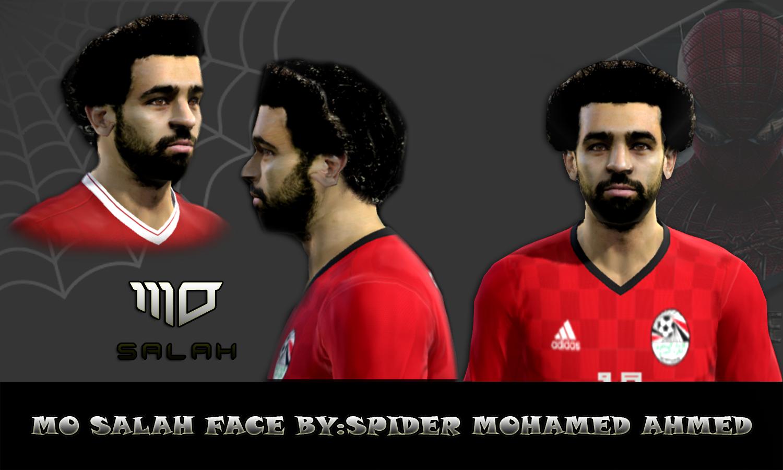 Mohamed Salah Face for pes 2013 by Sp Mohamed facemaker