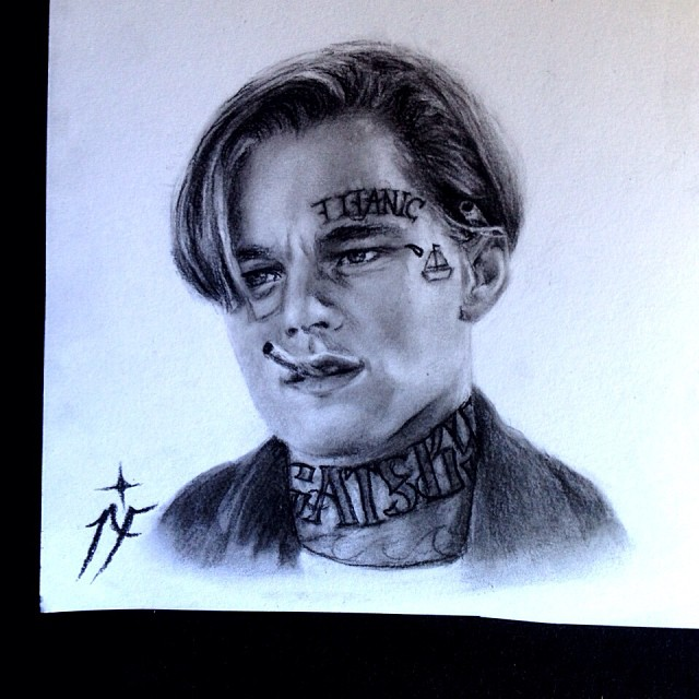 01-Leonardo-Dicaprio-Titanic-The-Great-Gatsby-Natasha-Farnsworth-Drawings-and-Paintings-Celebrity-Portraits-www-designstack-co