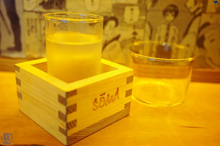 Le Chameau Bleu - Saké du restaurant le Soma  Resto Japonais dans le Marais