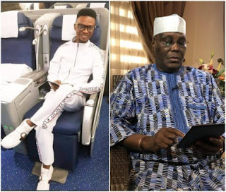 I Go Dye comes for Atiku Abubakar for trying to play Nigerian youths  Shortly after former Vice President Atiku Abubakar made a public announcement of his return to PDP, ace Nigerian comedian I Go Dye, has dragged the politician for trying to play Nigerian youths.