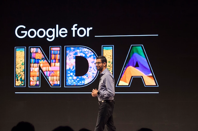 ANNOUNCEMENT OF GOOGLE- PLANNING BIG FOR INDIA