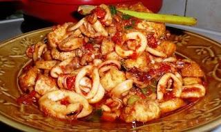 Resep Masakan Dan Cara Membuat Cumi Balado Spesial Dan Lezat