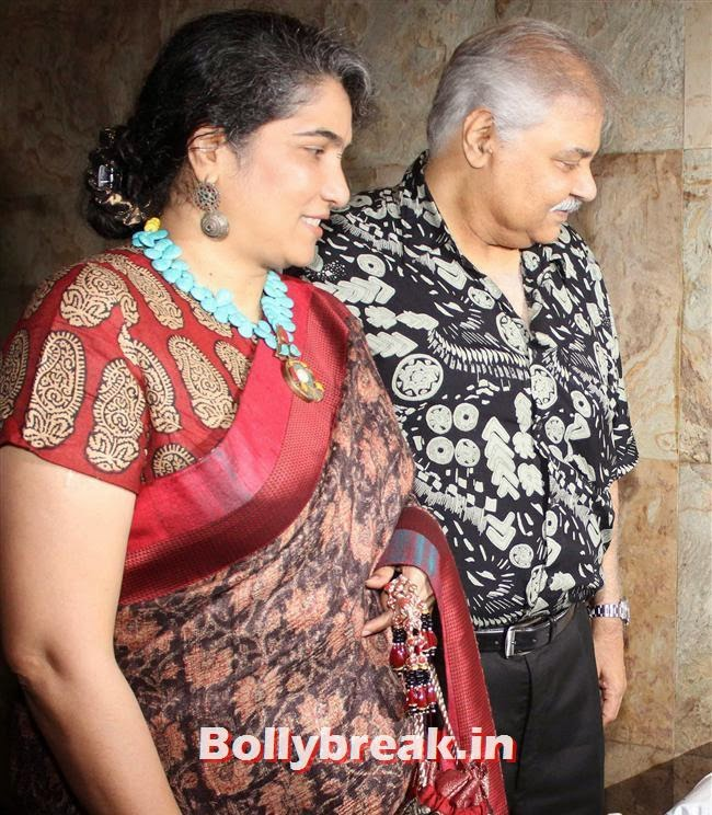 Satish Shah with his wife, Celebs as Special Screening of Club 60