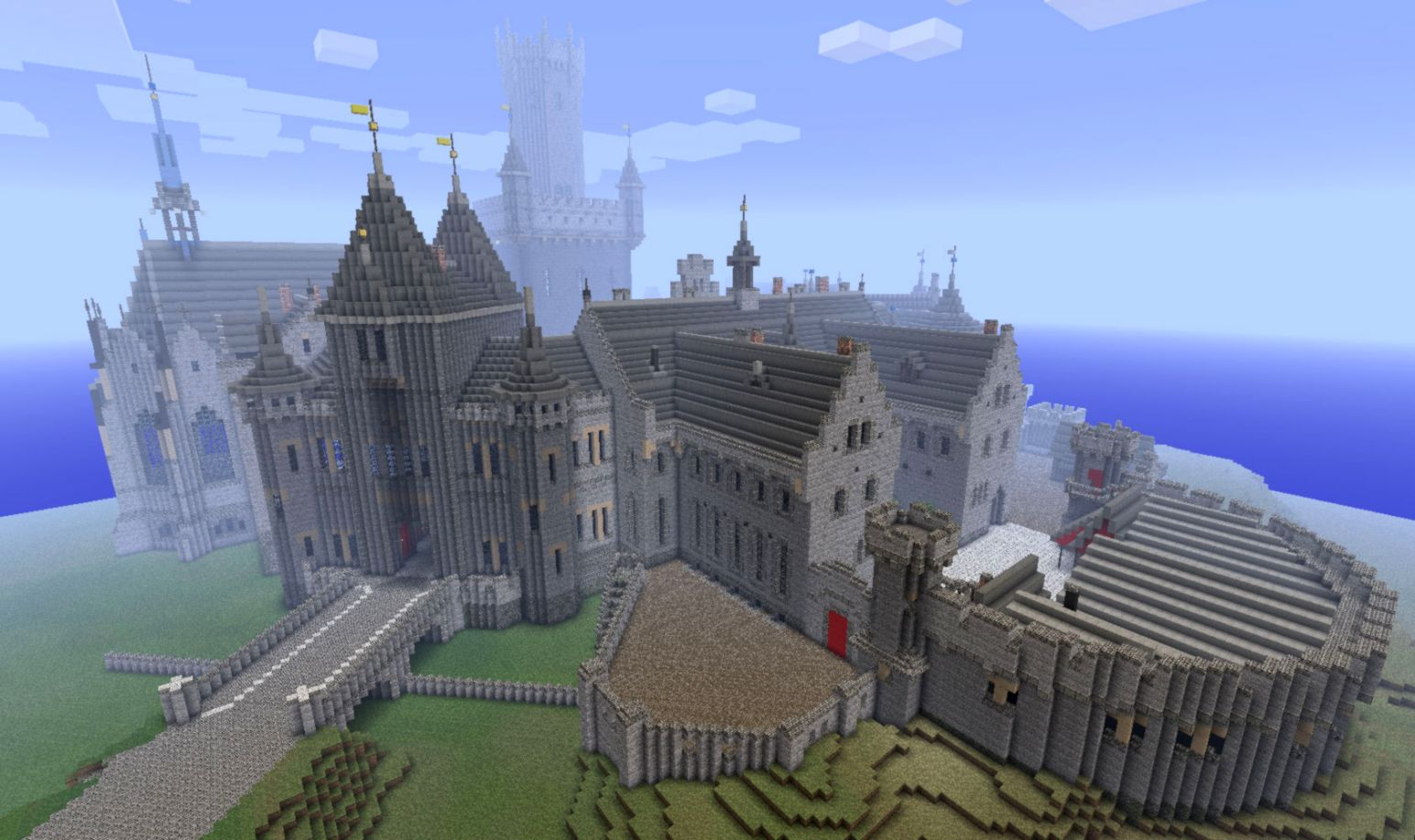 Minecraft Amazing Big Casttle Design