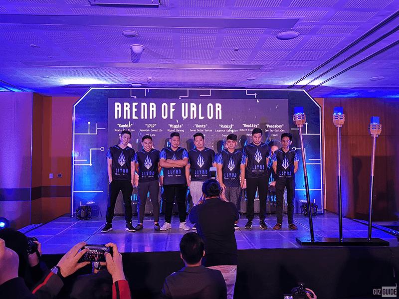 Liyab Arena of Valor players