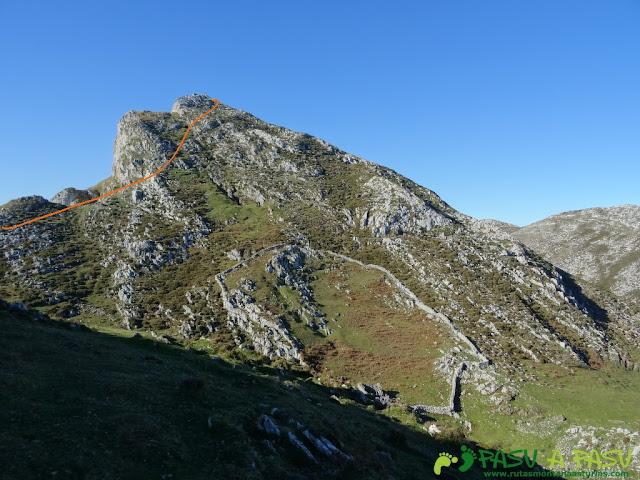 Tramo final al Pico Paisanu