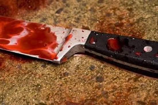 lesão a faca em russas