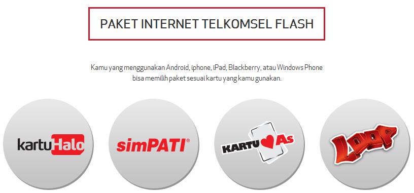 Macam Macam Paket Internet Telkomsel Flash Untuk Modem Mas Tono