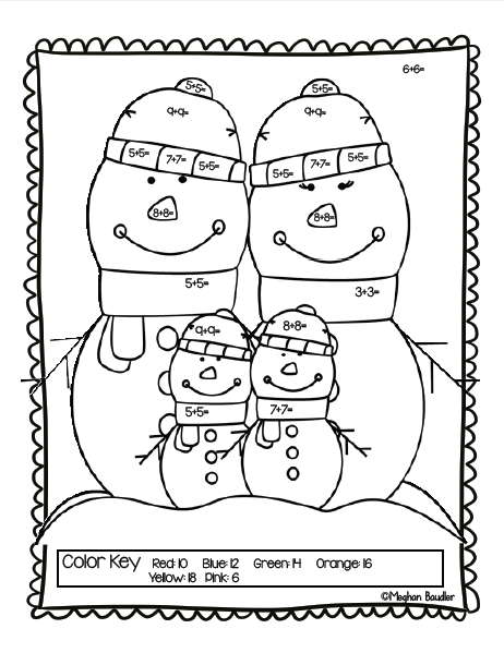 The Creative Colorful Classroom: Winter Freebie and