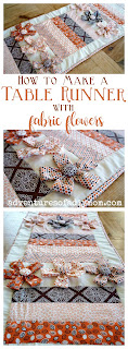 How to Make a Fall Table Runner