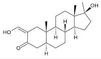 formula estrutura quimica oximetolona