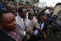 Big blow to RAILA ODINGA as ODM officials in Nyanza vow to join UHURU/ RUTO! You are a coward and an embarrassment