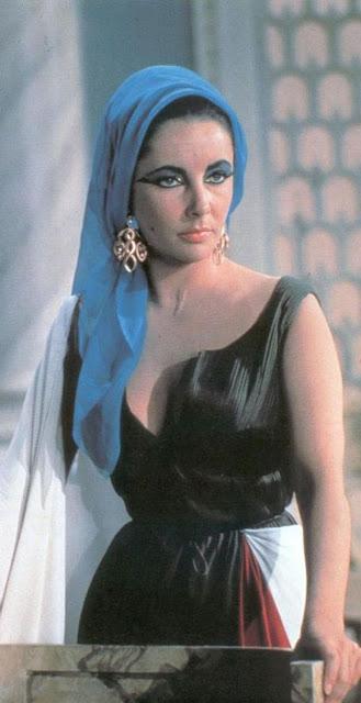 Enfeite de cabelo egípcio, Cleopatra filme, Elisabeth Taylor, acessorios