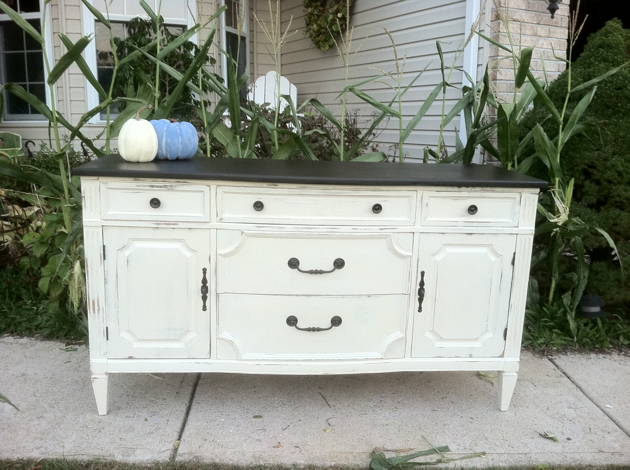 Remodelaholic | $10 Dresser to Media Center