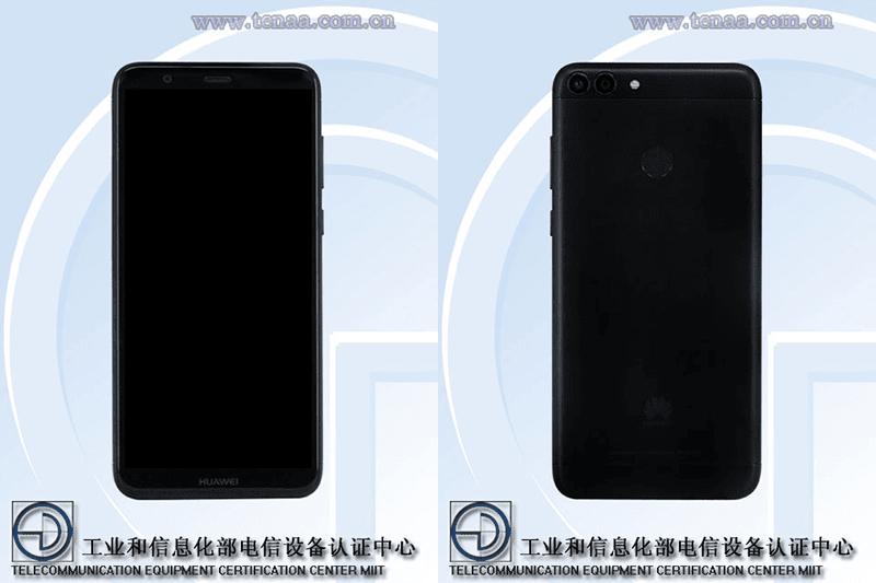 Huawei Enjoy 7S w/ 18:9 screen and 4GB listed on TENAA