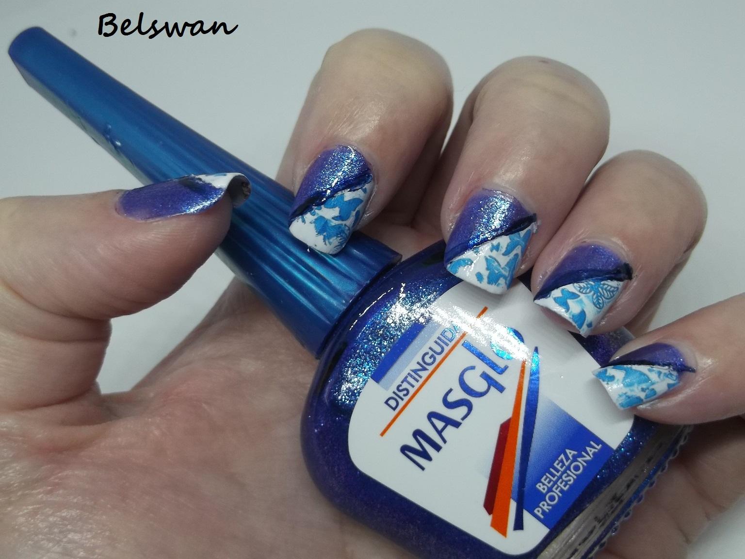 Belswan: Mostrando colores y manicuras de los esmaltes \