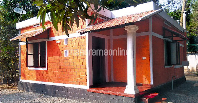 low budget houses in kerala photos and plan, 4.5 lakhs house plans in kerala