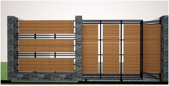 570 Gambar Pagar Besi Rumah Cantik Terbaru