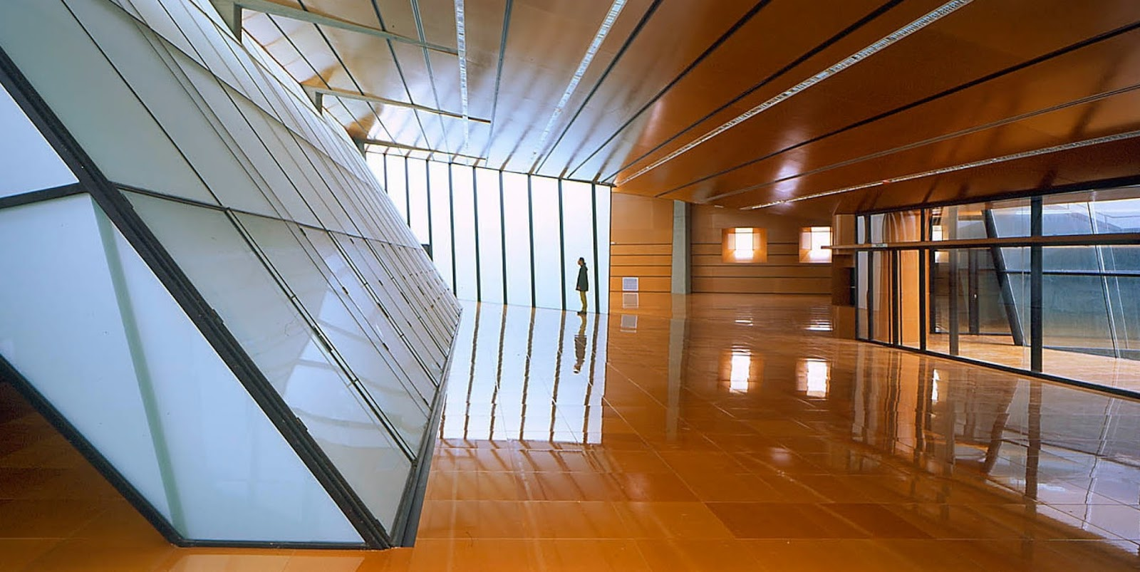Hidden architecture fuencarral public library - Caja arquitectos madrid ...