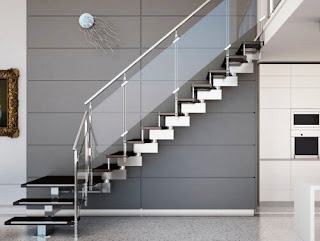 Creative ideas for updating the look of Minimalist House Ladder