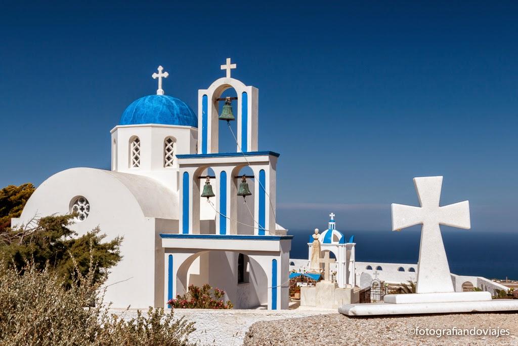 Santorini, Islas cicladas en Grecia