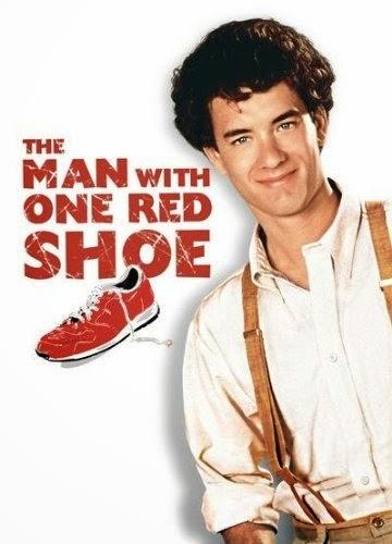 kırmızı ayakkabılı adam
